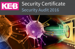 KEB security certificate