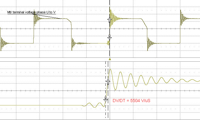 vfd voltage spikes