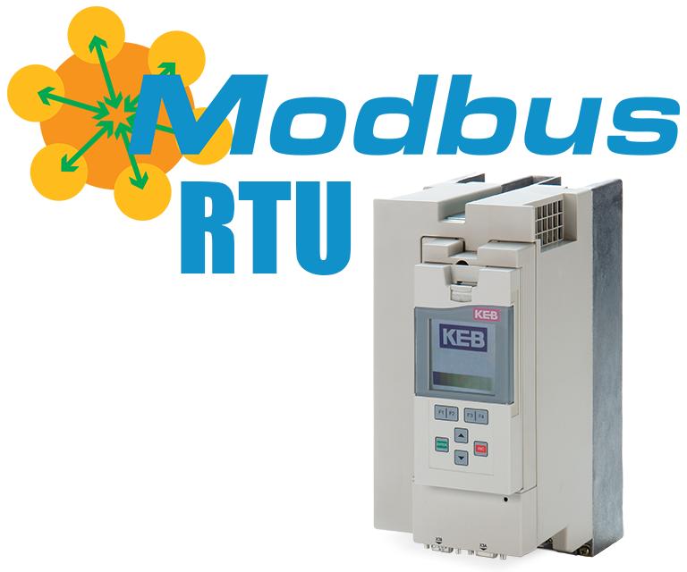 Modbus RTU - KEB F5 VFD
