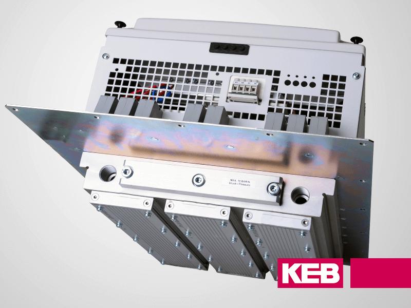 KEB F5 Drive Liquid cooled