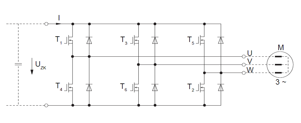 vfd output igbt schematic