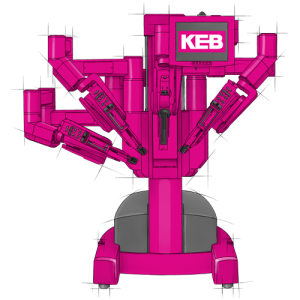 KEB provides robotic brakes for precise control of medical robots