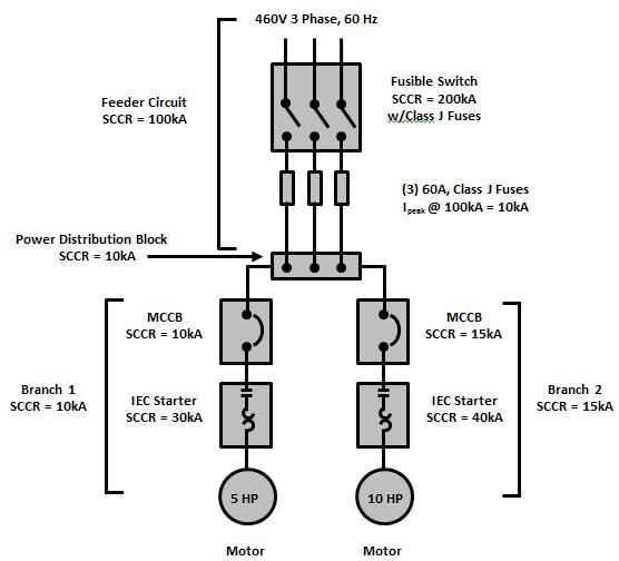 three phase branch circuit diagram