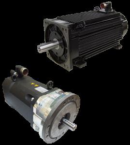Servo motors for wind turbine applications