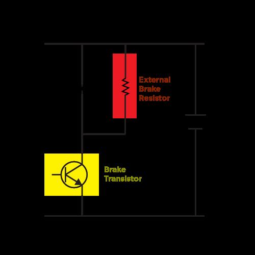Brake Transistor Circuit
