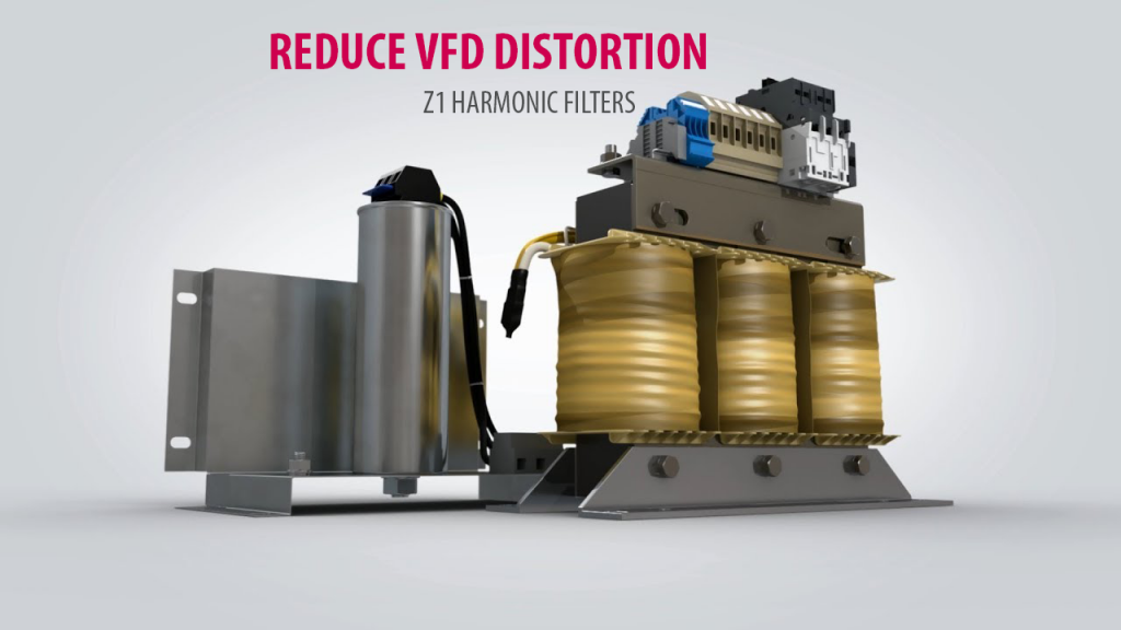 Harmonic filters Reduce VFD distortion