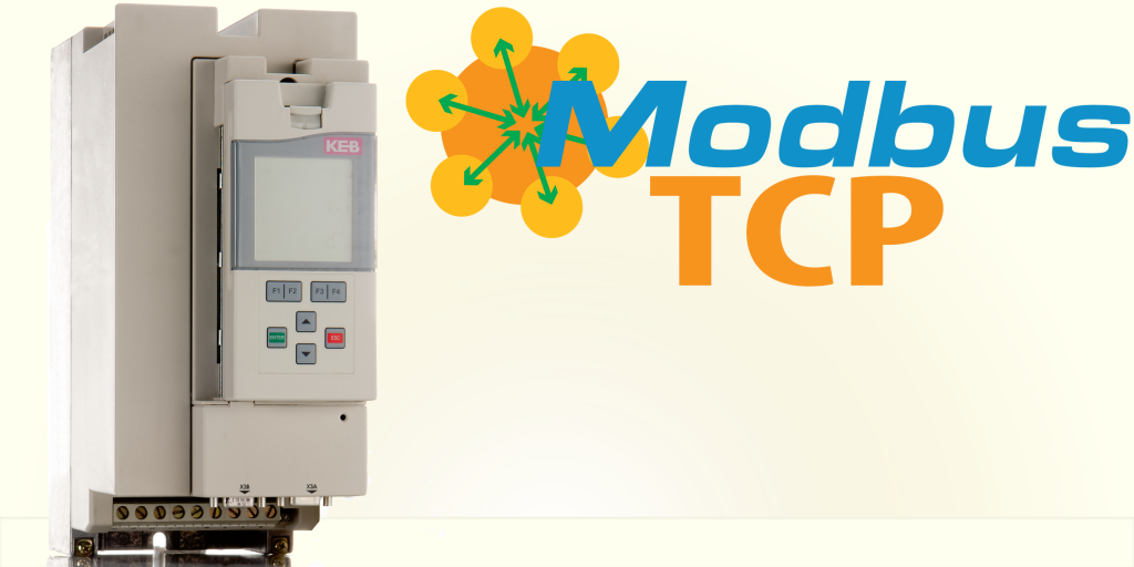 Modbus TCP - scalable family of drives from KEB