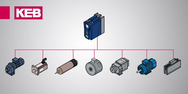 vfd operate different motor types