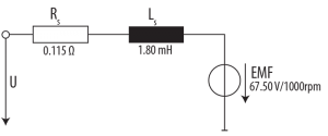 Simplified motor circuit taken from Combivis SCL Online Wizard